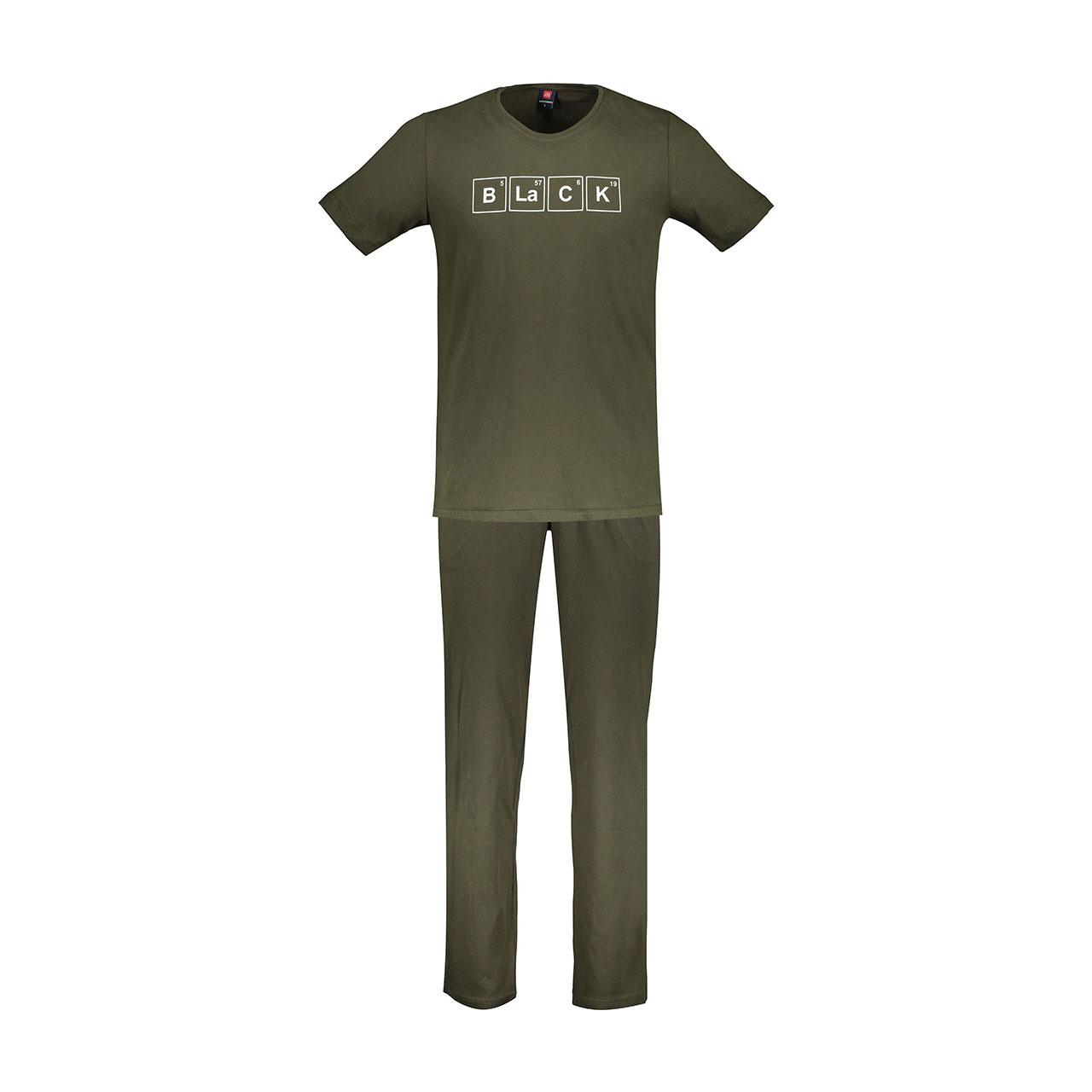 تصویر ست تی شرت و شلوار مردانه جامه پوش آرا مدل 4031016456-43