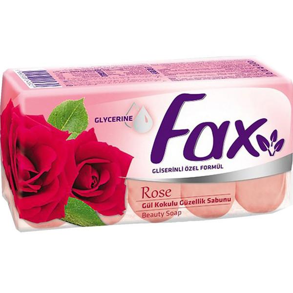 صابون 5 عددی فکس مدل Rose وزن 350 گرم