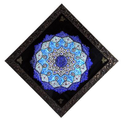 تابلو بشقاب میناکاری کد 23-10089
