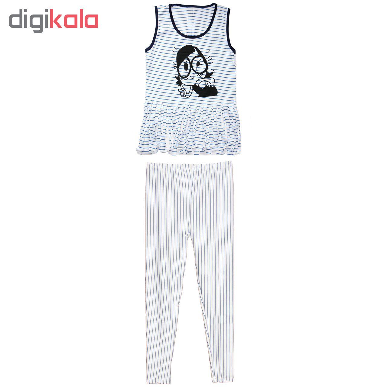 خرید                                      ست لباس راحتی زنانه کد 1124012