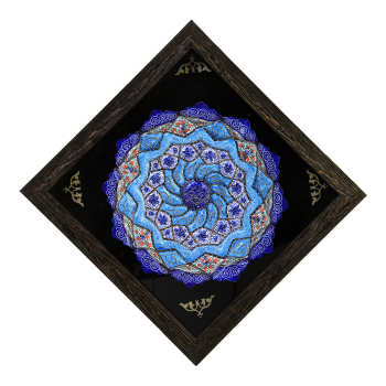تابلو بشقاب میناکاری کد 37-10089