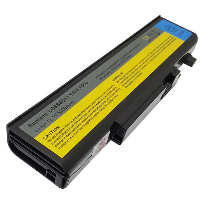 باتری لپ تاپ 6 سلولی  مناسب برای لپ تاپ لنوو مدل  y460