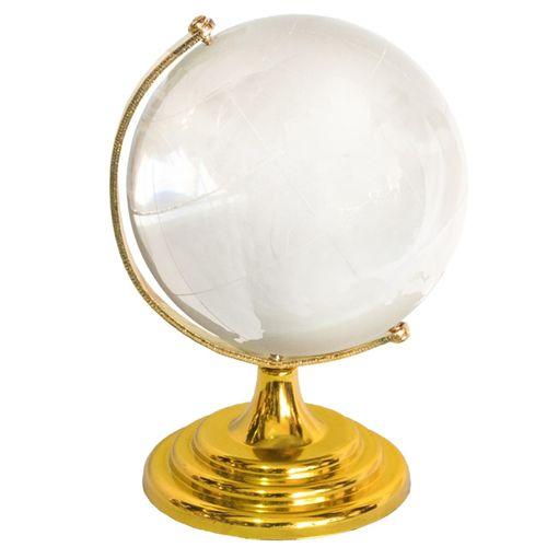 ماکت شیشه ای مدل کره زمین کد AL-9130004 سایز بزرگ