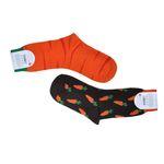 جوراب مردانه طرح هویج کد 21 thumb