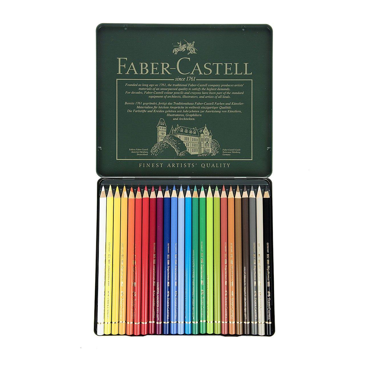 مداد رنگی 24 رنگ فابر کاستل مدل Polychromos main 1 2