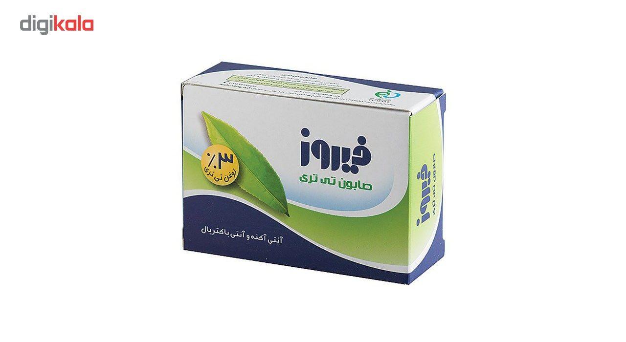 صابون فیروز مدل Tea Tree مقدار 120 گرم main 1 1