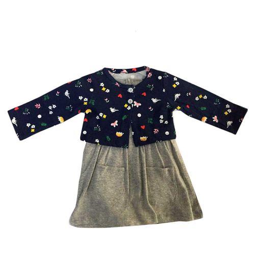 ست 2 تکه لباس نوزادی دخترانه کد 3055