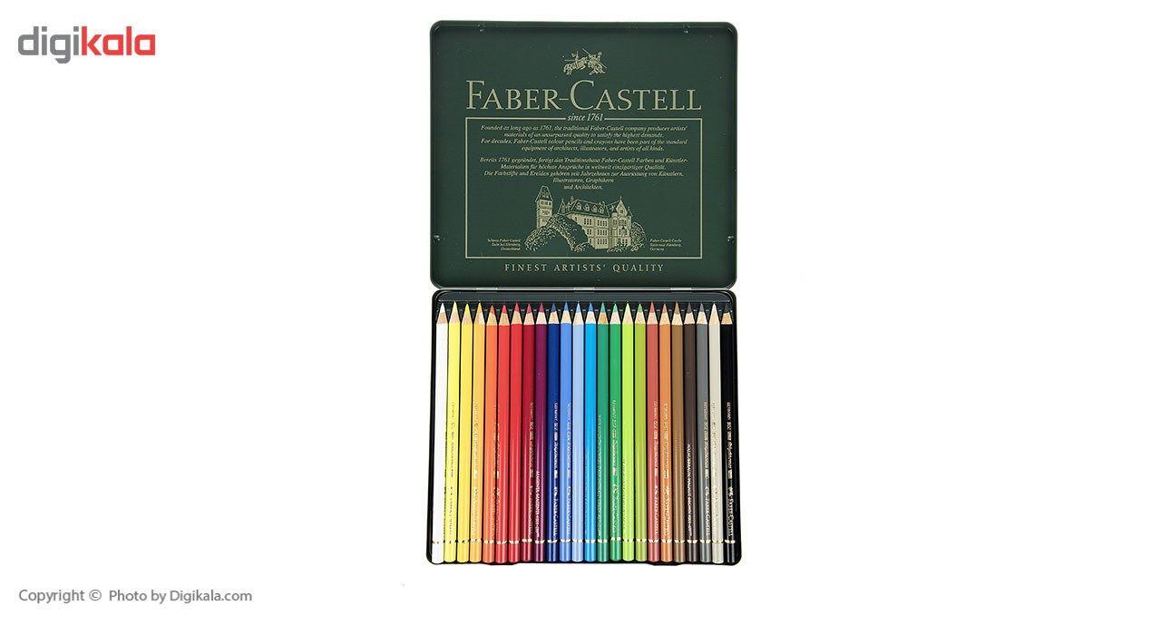 مداد رنگی 24 رنگ فابر کاستل مدل Polychromos main 1 3