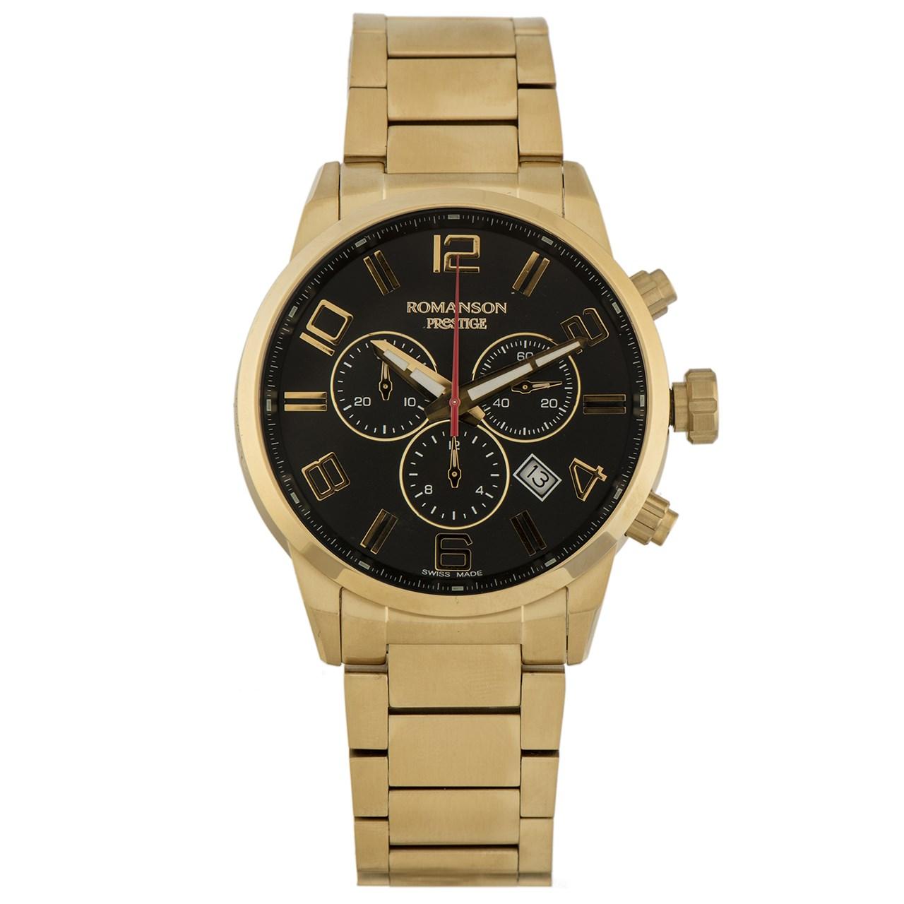 ساعت مچی عقربه ای مردانه رومانسون مدل TM3259HM1GA31G