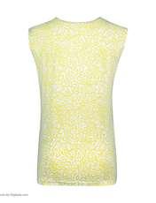 ست تاپ و شلوارک زنانه طرح بیوتی کد 0227 رنگ زرد -  - 8