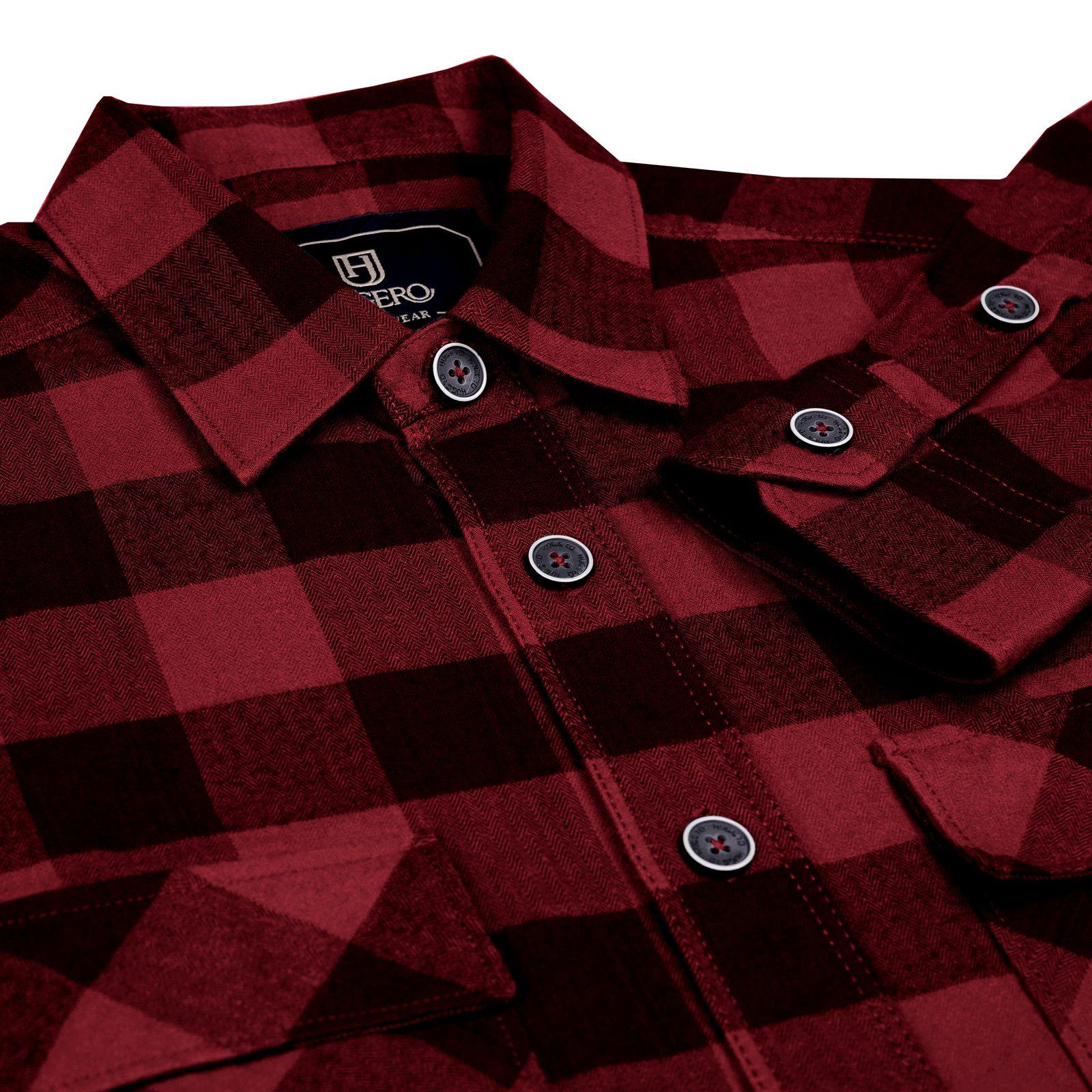 پیراهن آستین بلند مردانه جی تی هوگرو مدل 199525 -  - 5