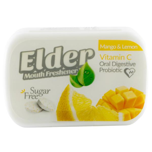 قرص خوشبو کننده دهان الدر مدل انبه لیمو وزن 15 گرم