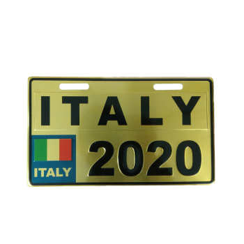 پلاک موتور سیکلت طرح ایتالیا مدل GLD-2020