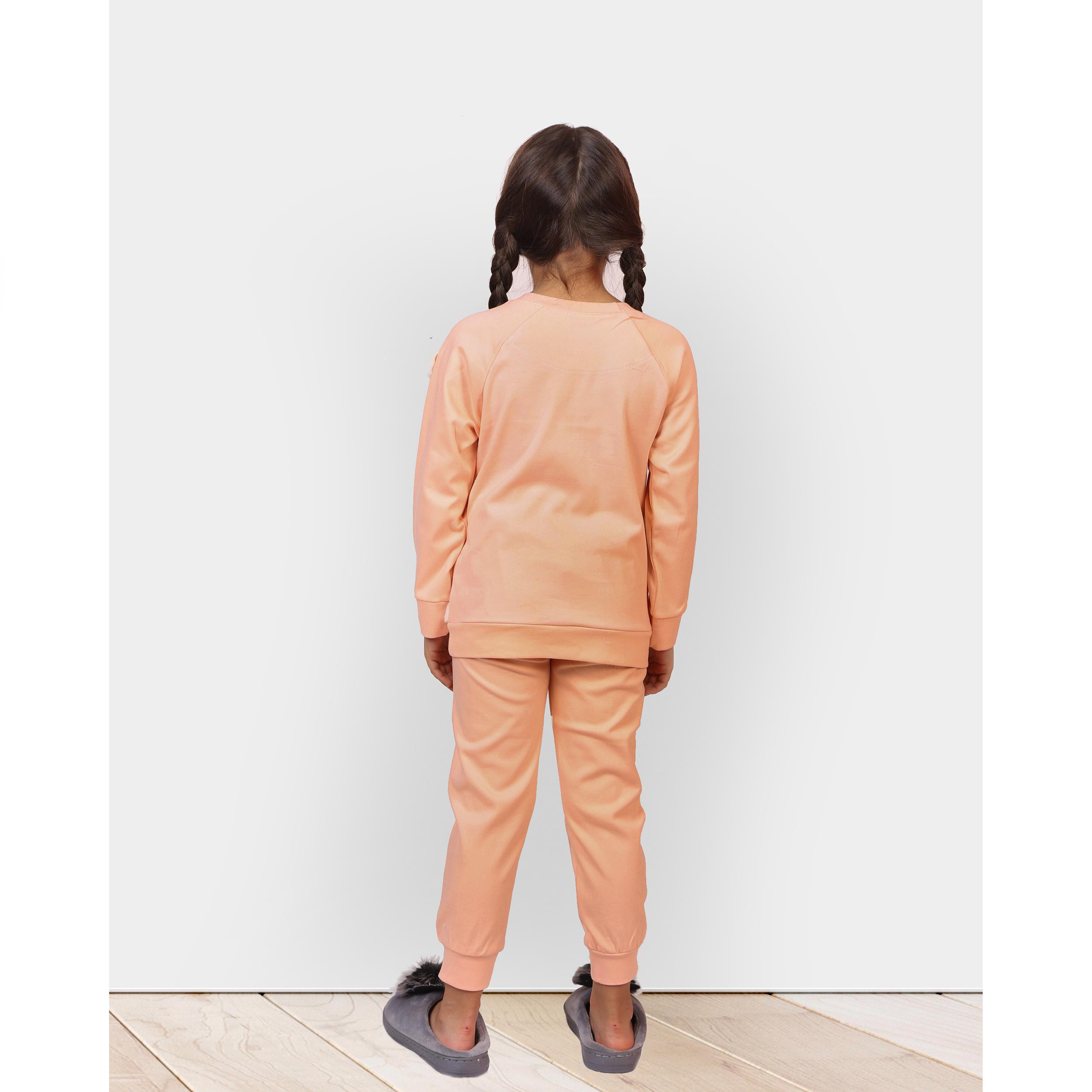 ست تی شرت و شلوار دخترانه مادر مدل 302-80 main 1 8