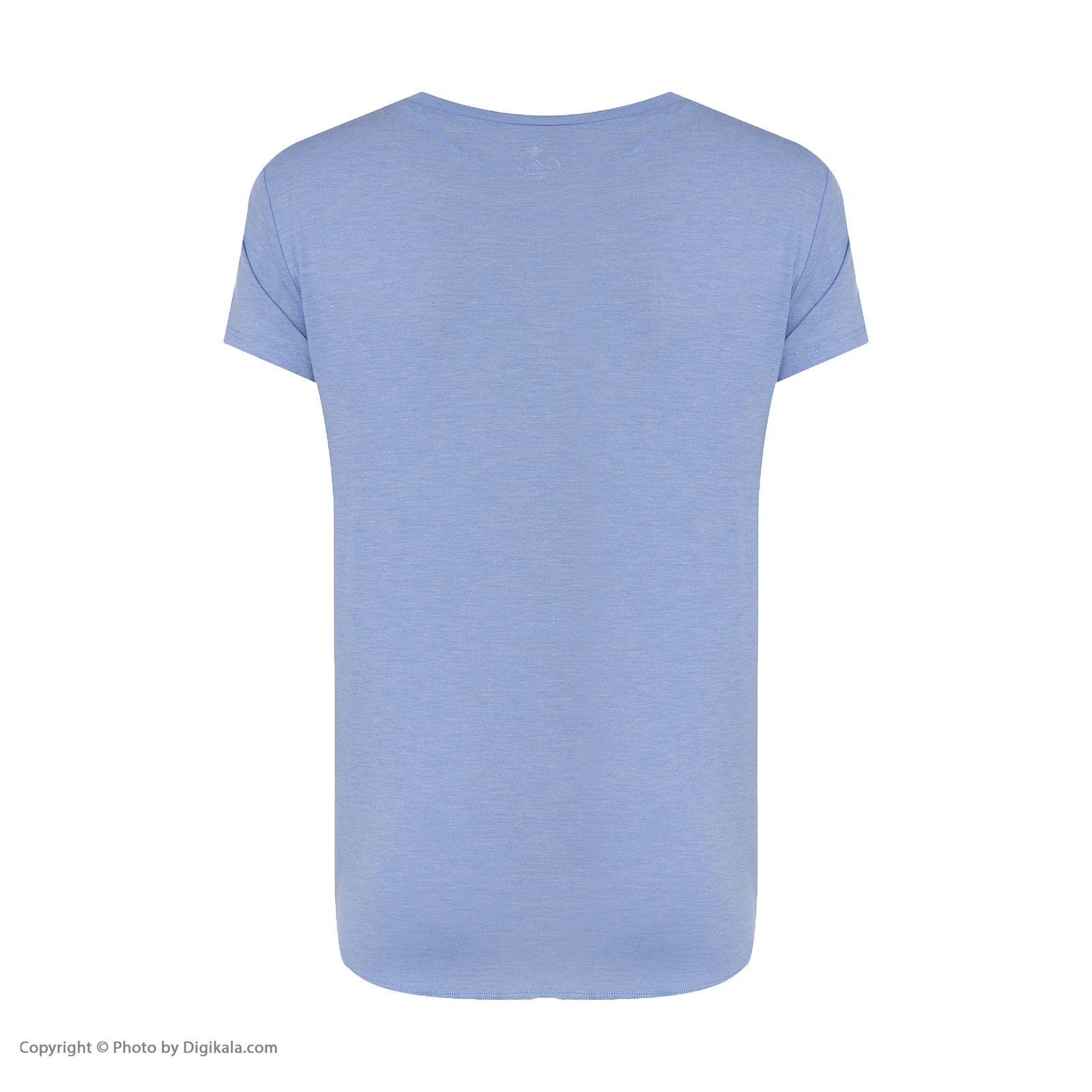تی شرت زنانه کالینز مدل CL1026819-BLUEMELANGE main 1 3