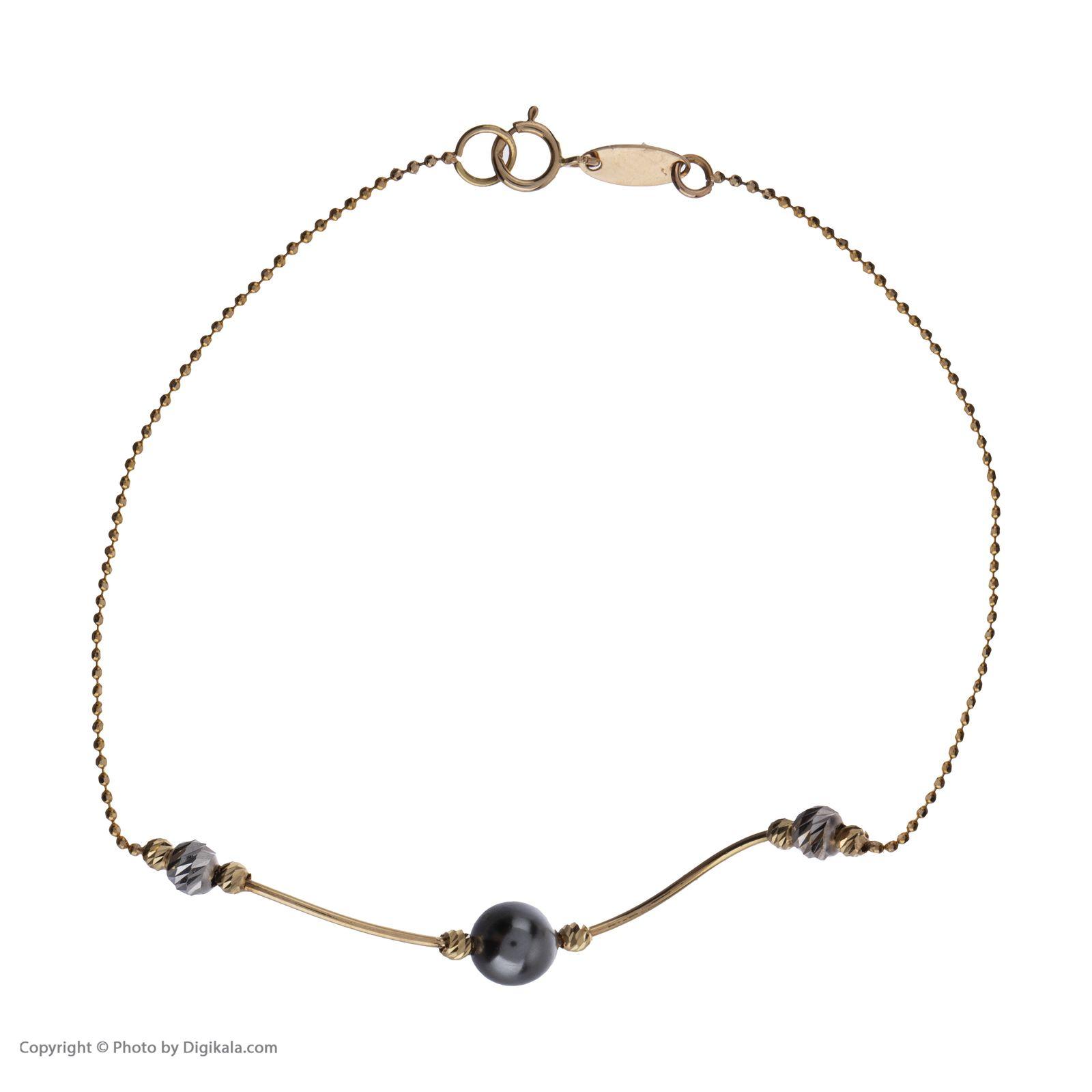 دستبند طلا 18 عیار زنانه سیودو مدل 144266 -  - 3