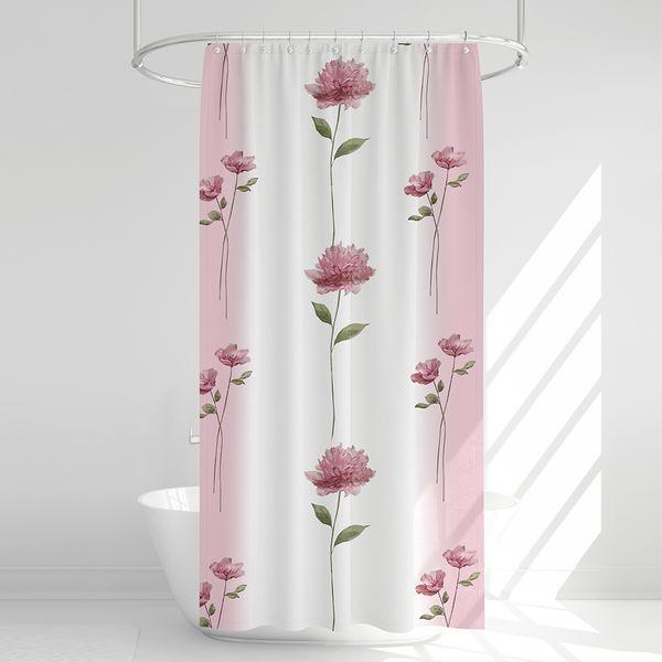 پرده حمام آرمیتا کد W031 سایز 180 × 200 سانتی متر