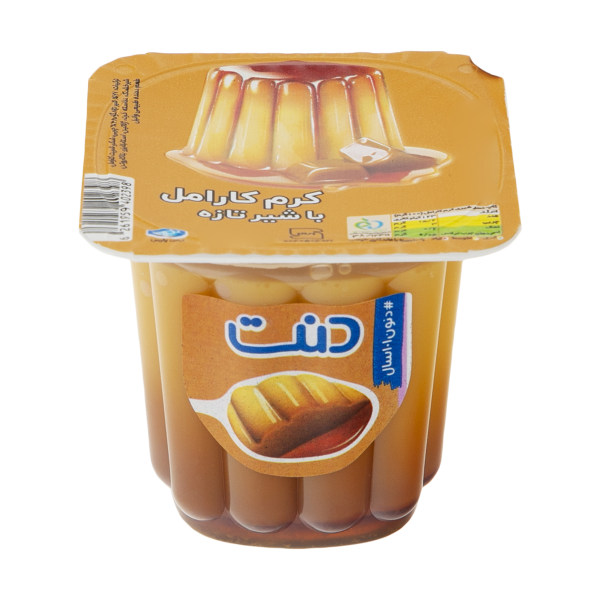 دسر فرانسوی دنت با طعم کرم کارامل مقدار 100 گرم
