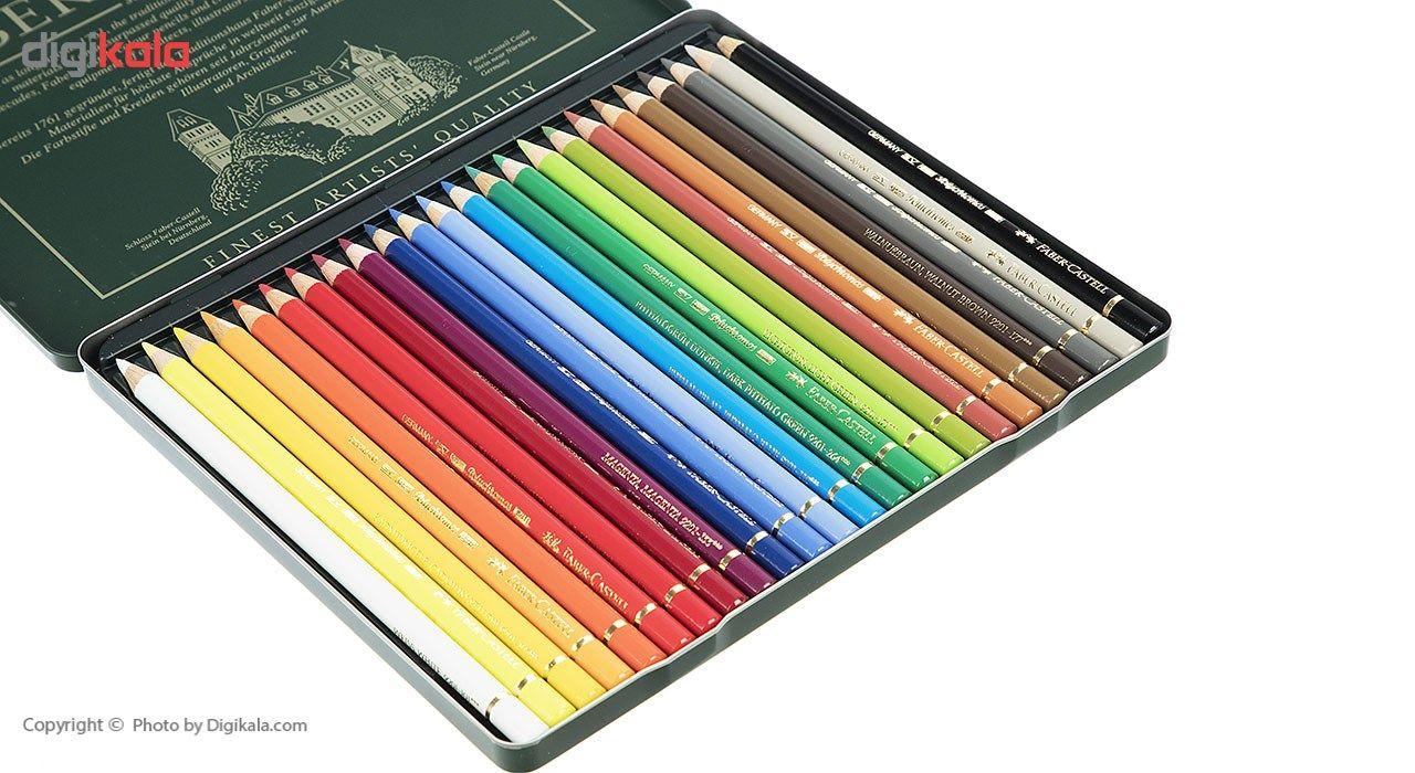 مداد رنگی 24 رنگ فابر کاستل مدل Polychromos main 1 4