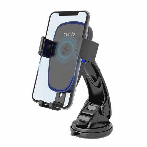 پایه نگهدارنده و شارژر بی سیم گوشی موبایل یسیدو مدل C35