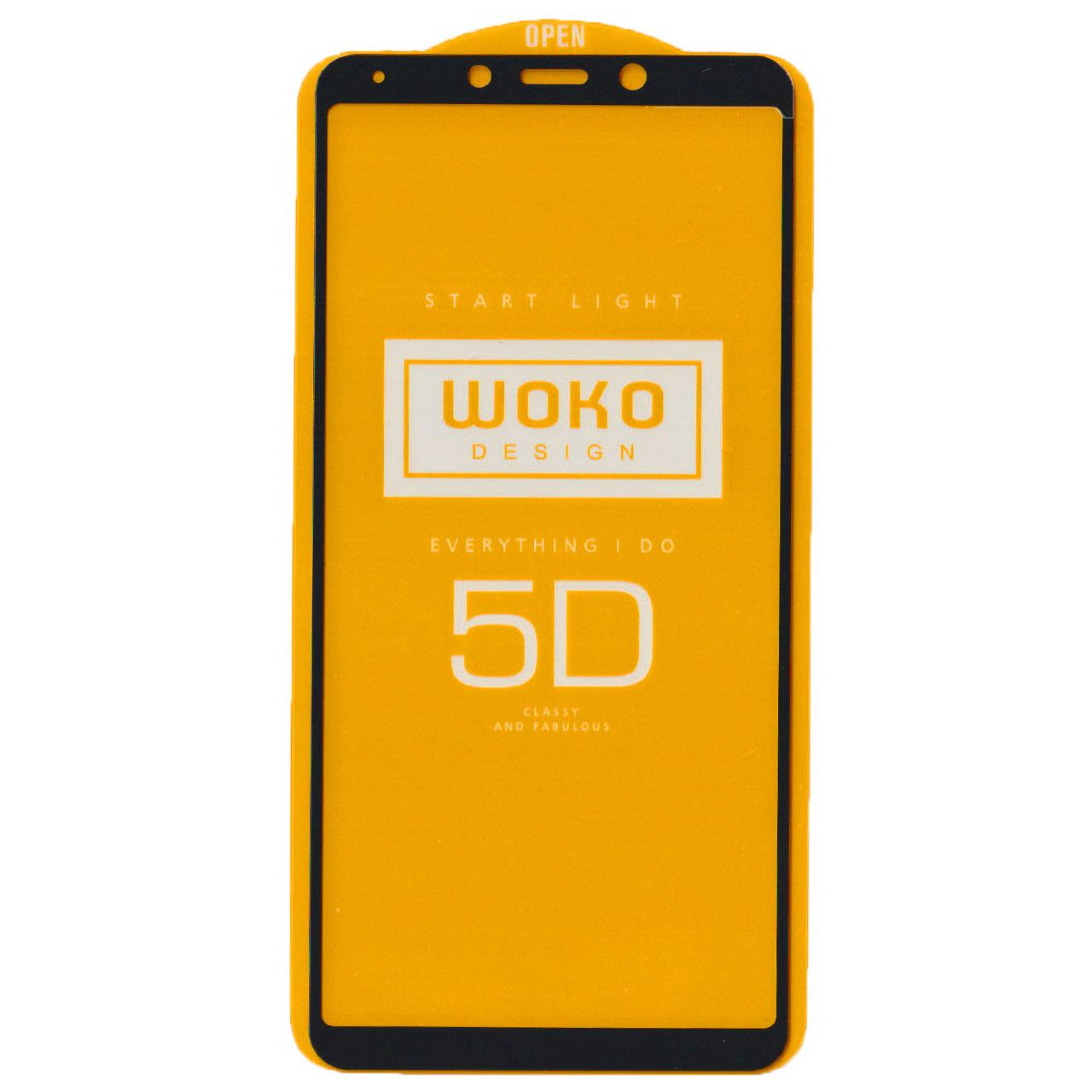 محافظ صفحه نمایش کوکو مدل 5D مناسب برای گوشی موبایل سامسونگ Samsung A9 2018 / A9 Star Pro