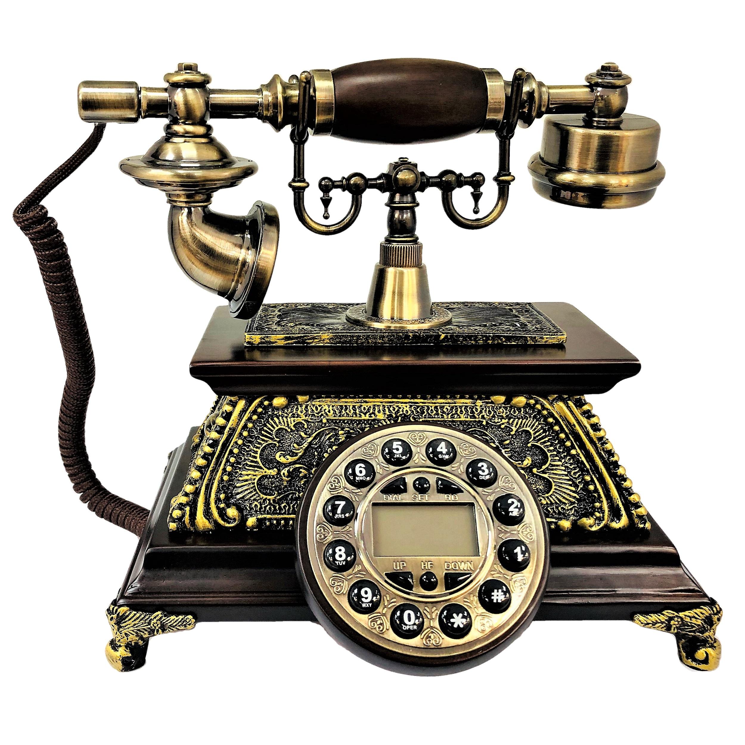 تلفن کلاسیک چوبی BHD مدل 5575