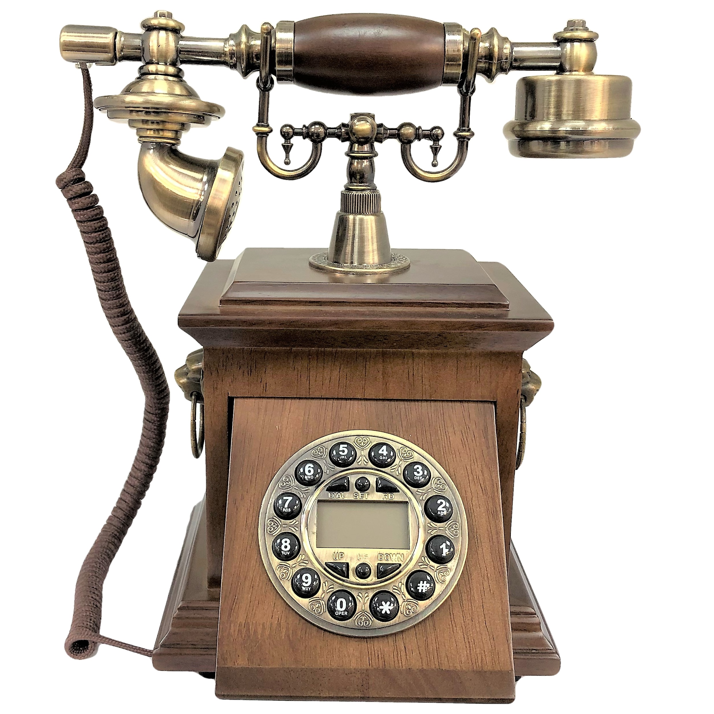 تلفن کلاسیک چوبی BHD مدل 5580