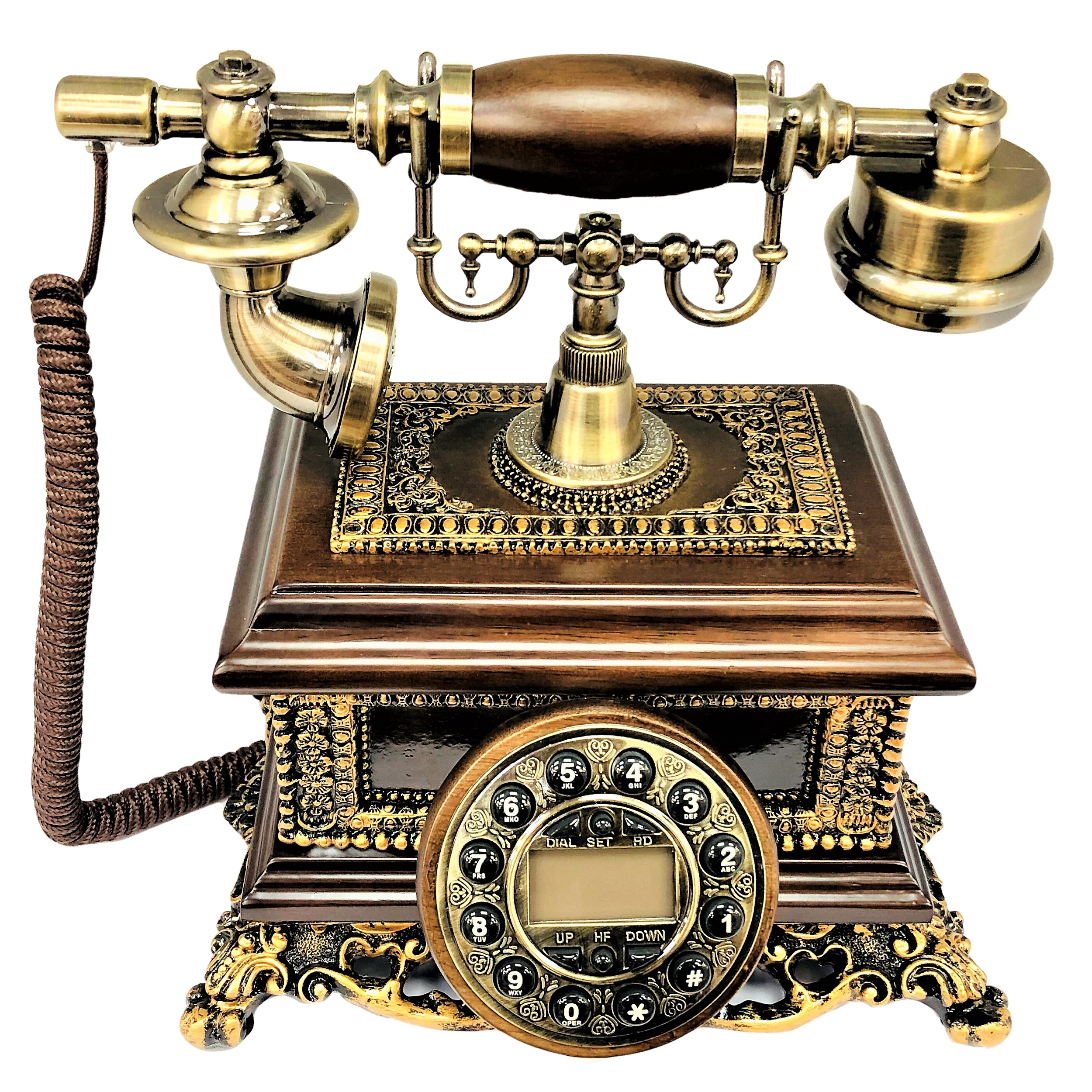 تلفن کلاسیک چوبی BHD مدل 5583