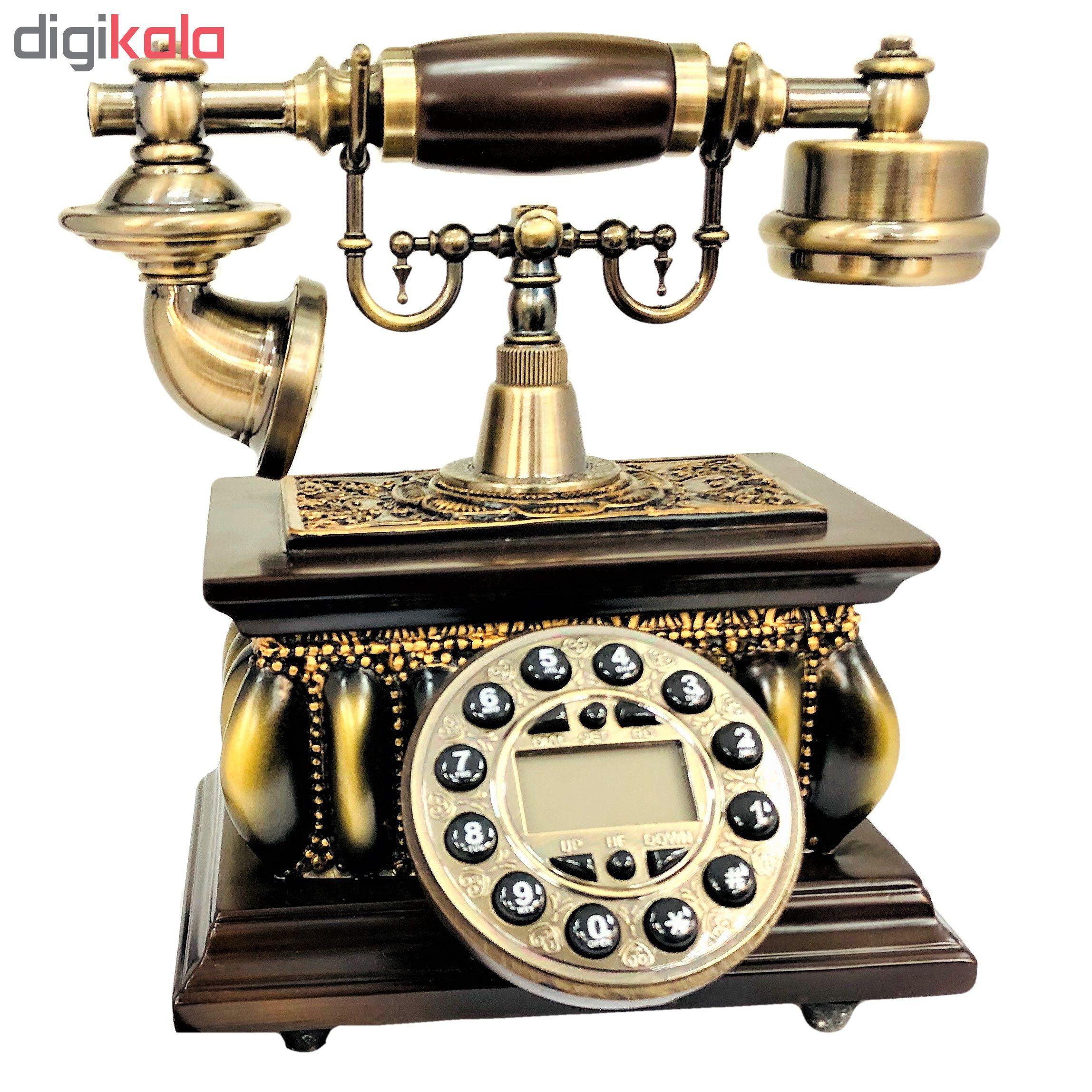 تلفن کلاسیک چوبی BHD مدل 5626