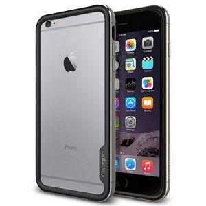 بامپر اسپیگن مدل Neo Hybrid EX Metal مناسب برای گوشی موبایل آیفون 6 پلاس/6s پلاس