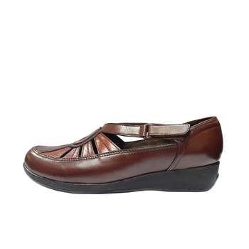 کفش طبی زنانه روشن مدل 112 کد 02  