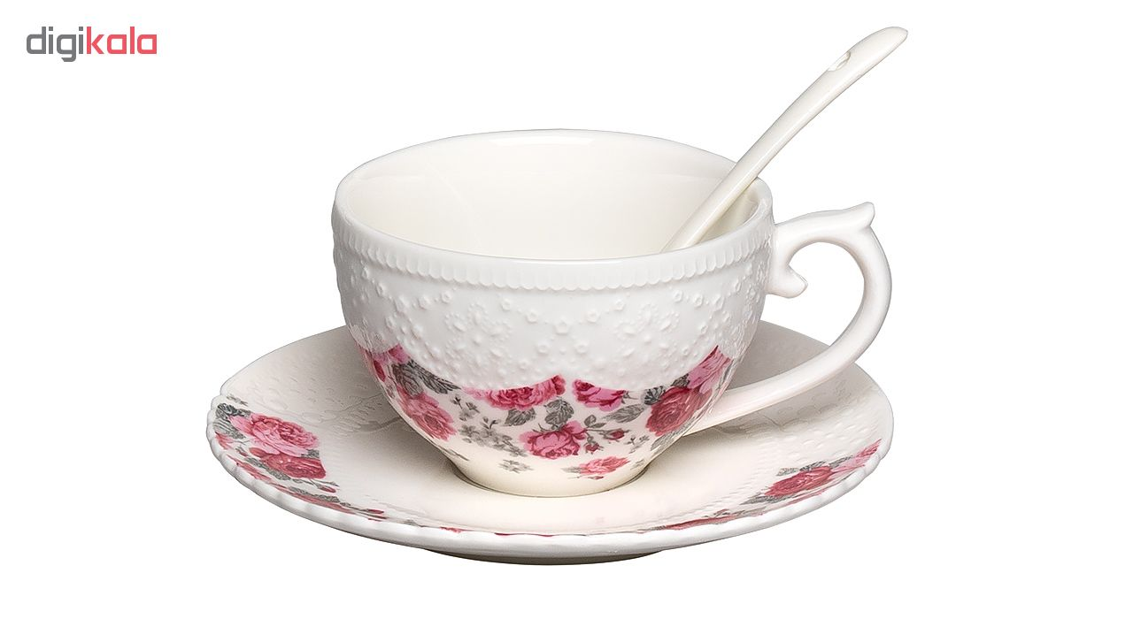 سرویس چای خوری 21 پارچه هوم کینگ مدل HK-8-2407-23S