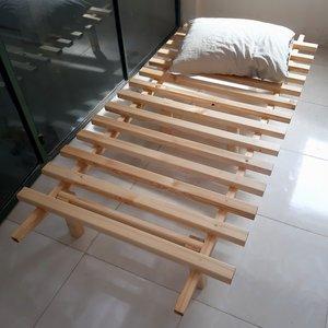 تخت خواب یک نفره مدل مینیمال سایز ۱۹۸ × ۹۰ سانتی متر