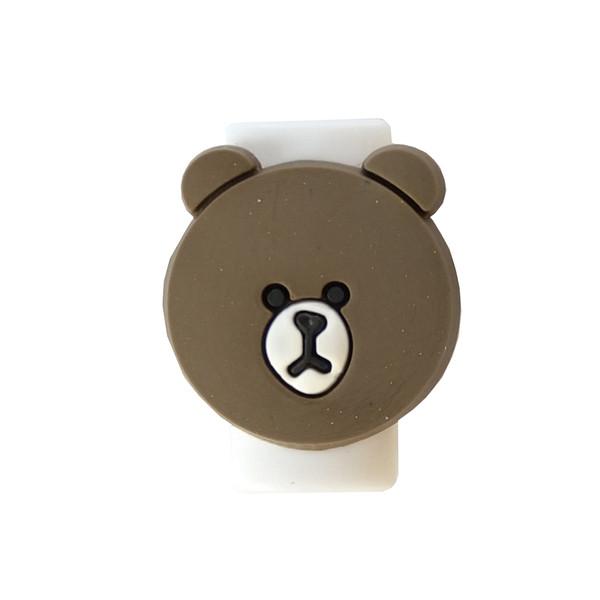 محافظ کابل شارژر مدل Bear-Brown