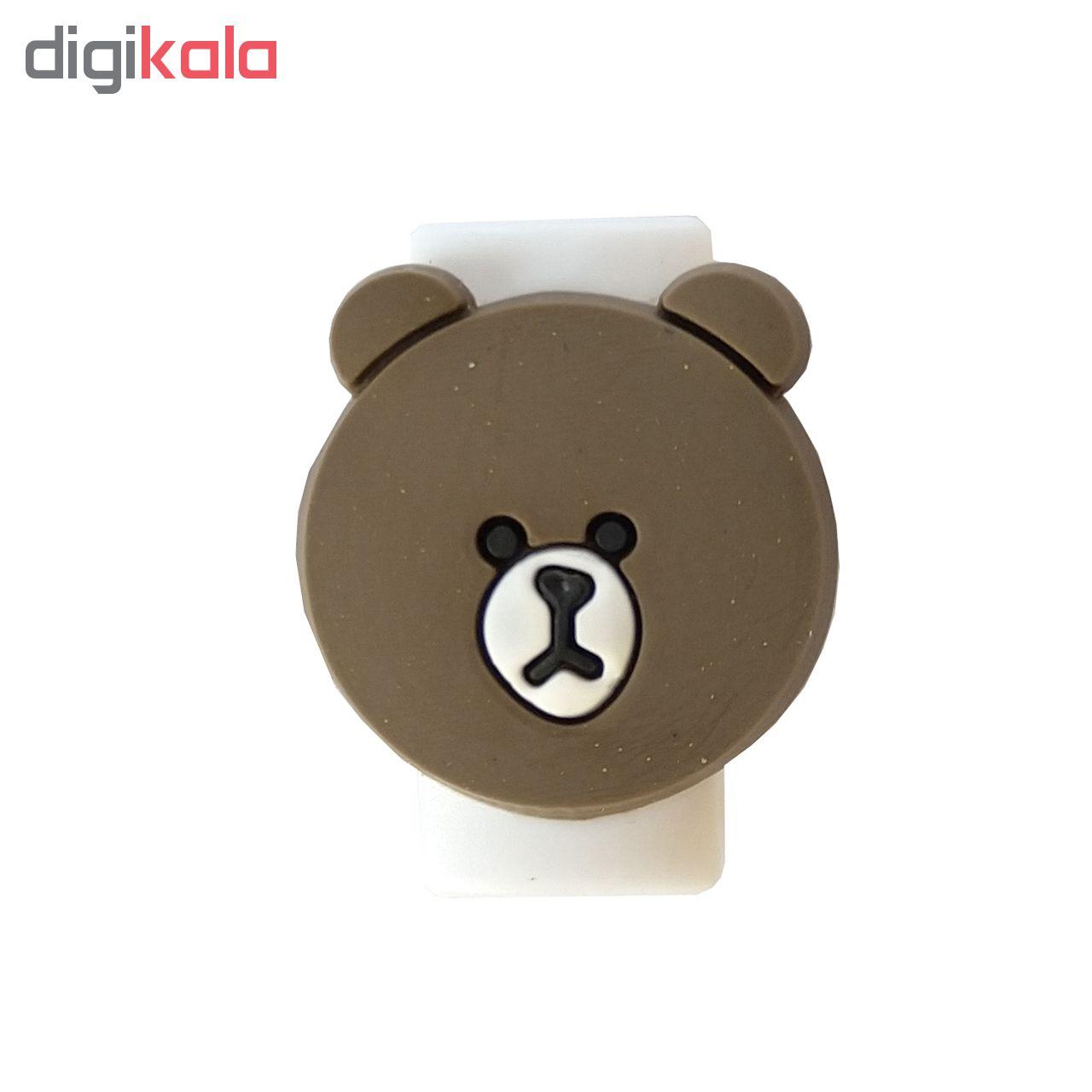 محافظ کابل شارژر مدل Bear-Brown main 1 2