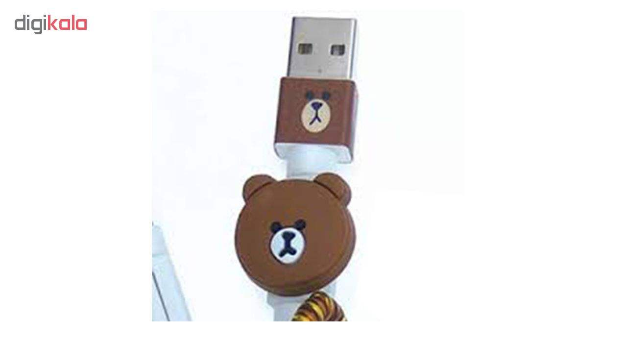 محافظ کابل شارژر مدل Bear-Brown main 1 3