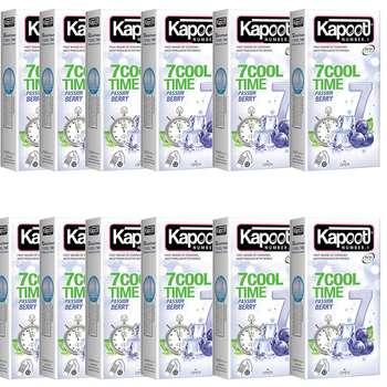 کاندوم کاپوت مدل 7COOL بسته 12 عددی