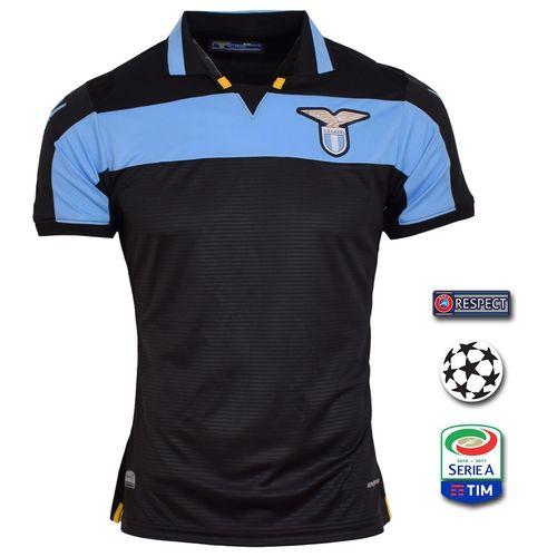 پیراهن ورزشی مردانه طرح لاتزیو مدل 3rd18-19 به همراه تگ
