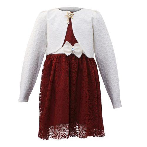 ست کت و پیراهن مجلسی دخترانه مدل 004