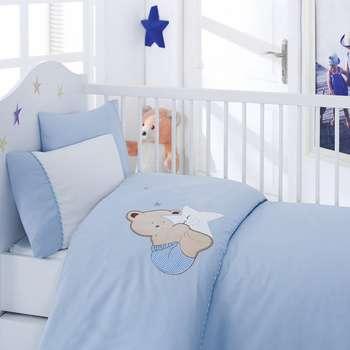 سرویس ملحفه کودک کاتن باکس طرح Bobo یک نفره 4 تکه | Cotton Box Bobo Child Bedsheet Set 1 Person 4 Pcs