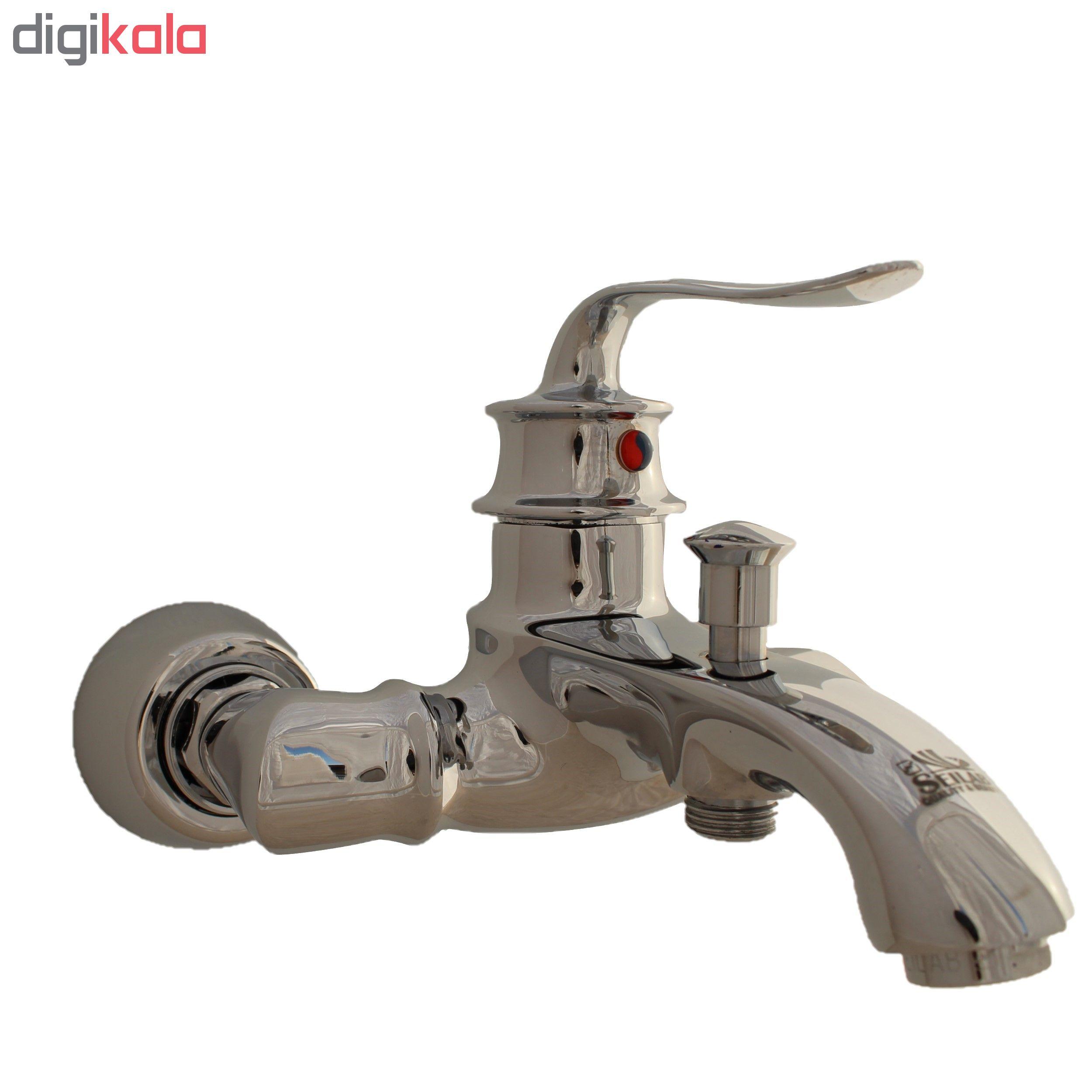 شیر حمام سیلاب مدل لوکا 2