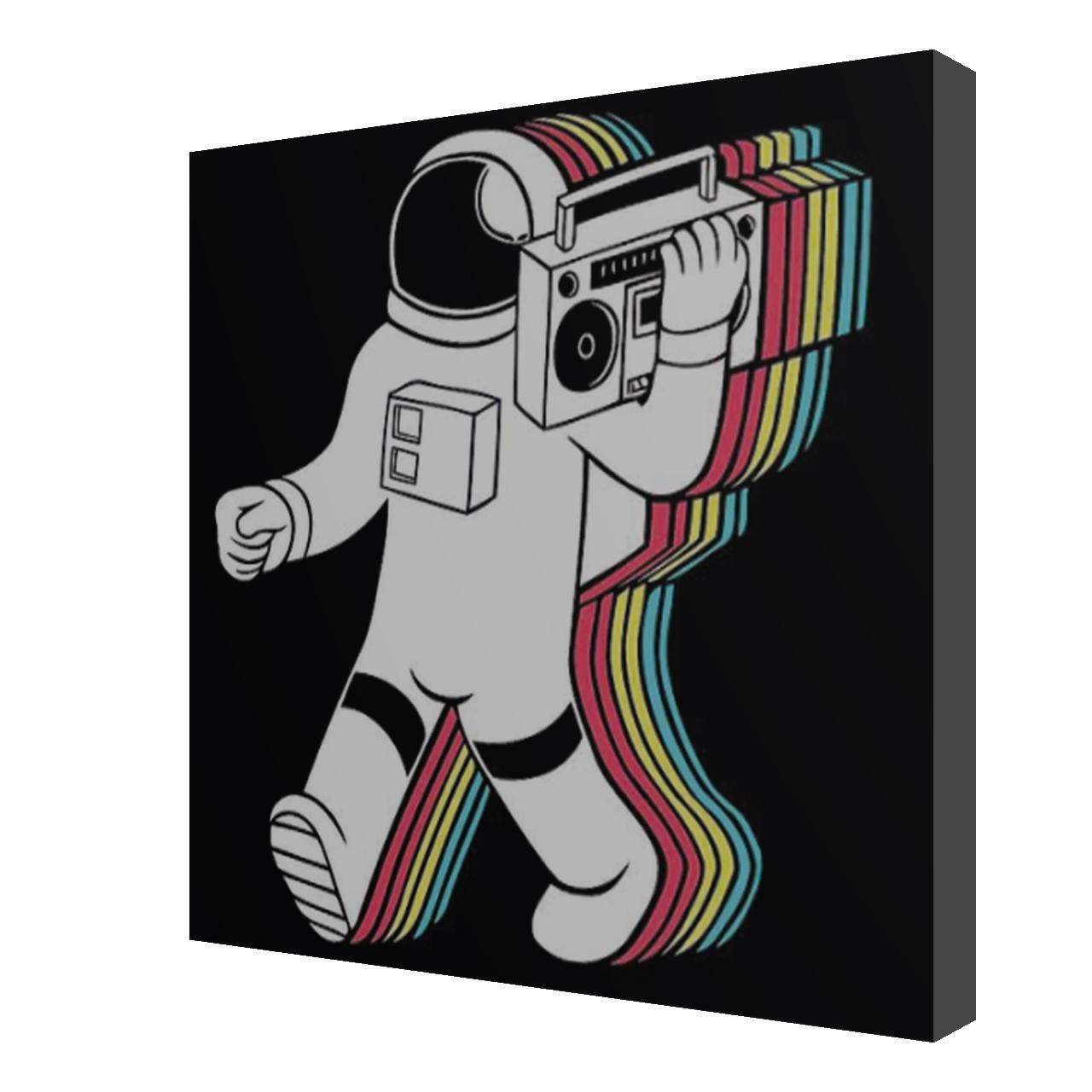 استیکر طرح آدم فضائی مدل Spaceman10