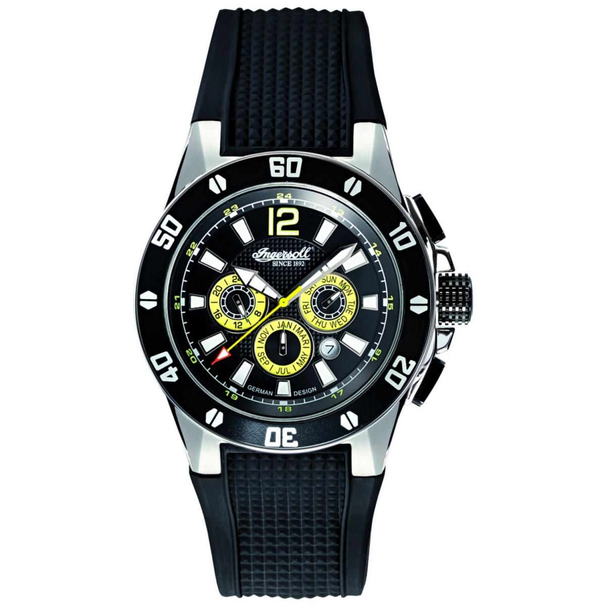 ساعت مچی عقربه ای مردانه اینگرسل مدل IN3221BK