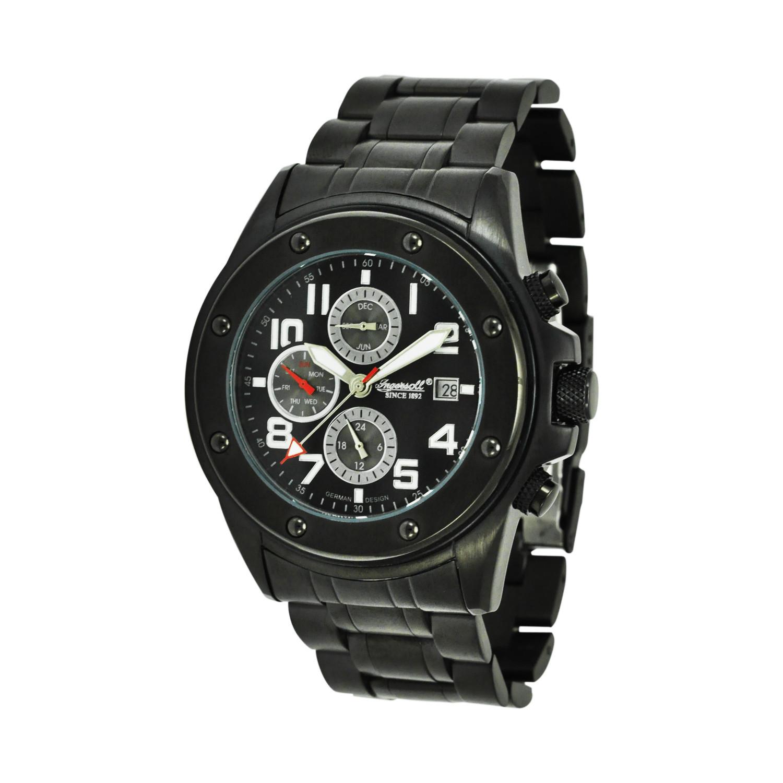 ساعت مچی عقربه ای مردانه اینگرسل مدل IN3201BBK