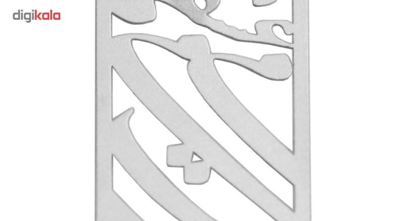 آویز گردنبند نقره الف دال مدل ESPA15