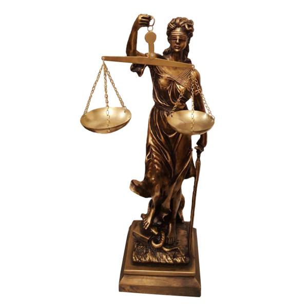 مجسمه لیلپار مدل عدالت DKH-7100 به همراه جاکلیدی قیچی