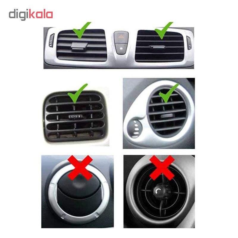 پایه نگه دارنده گوشی موبایل مدل Universal Magnetic Car Mount Code 3 main 1 6
