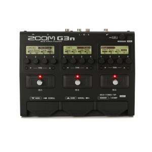 افکت گیتار الکتریک زوم مدل G3n