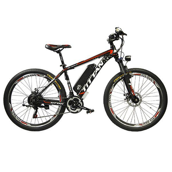 دوچرخه برقی مدل تیتان سایز 26