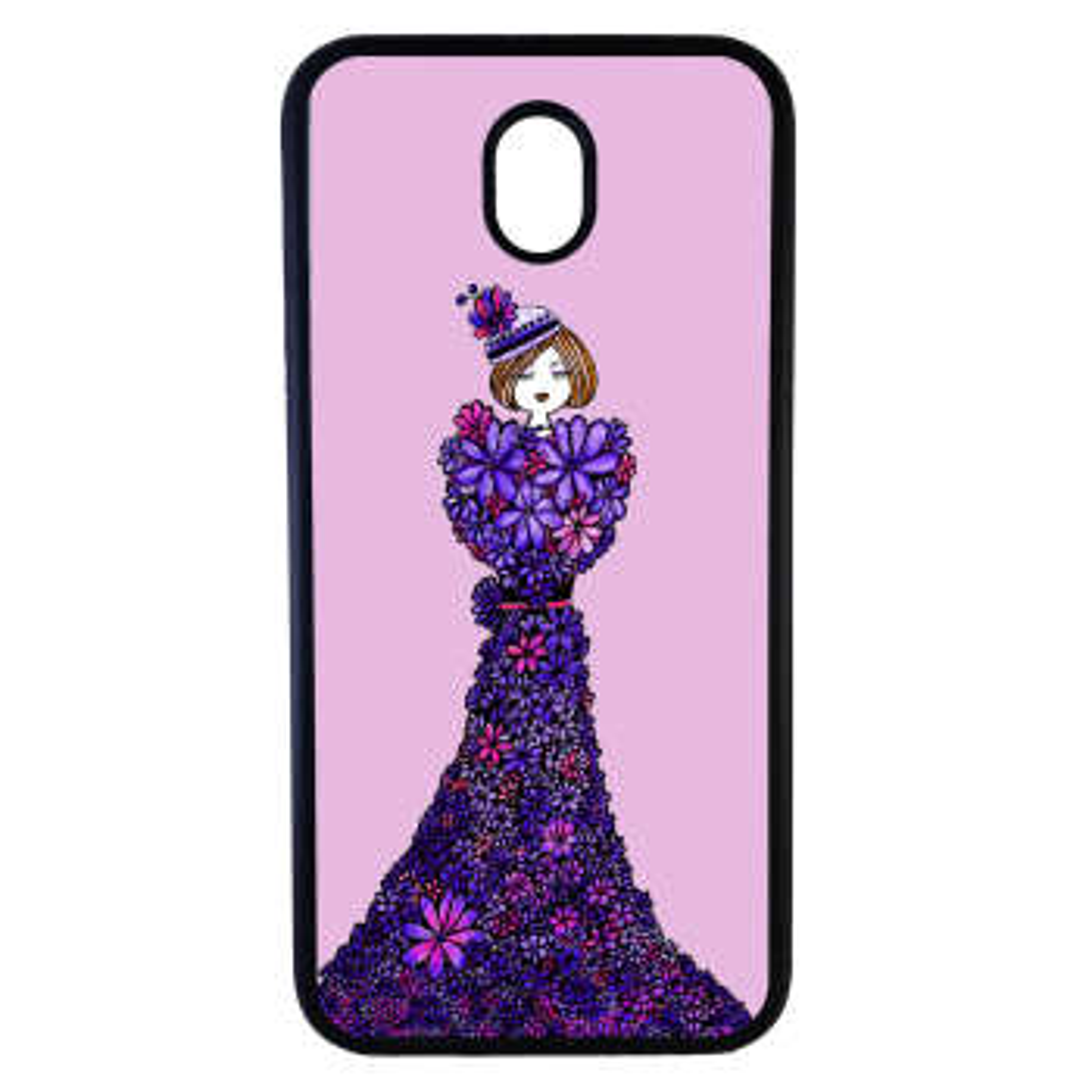 کاور طرح دخترانه کد 820 مناسب برای گوشی موبایل سامسونگ galaxy j3 pro